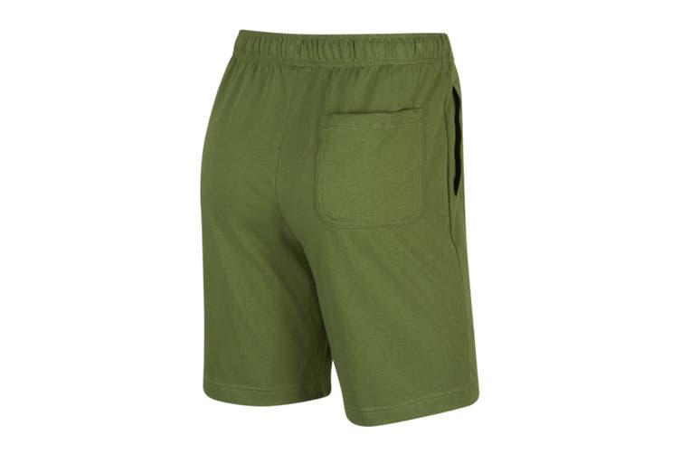 Nike Men's Club Jersey Short (Treeline/White, Size S)
