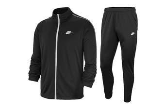 Nike Men's Sportswear Poly Basic Tracksuits (Black)