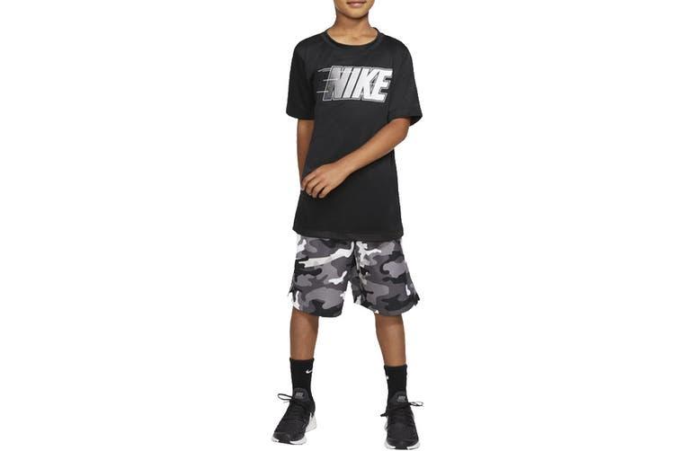 Nike Boys' Trophy Graphics Tees (Black, Size XL)