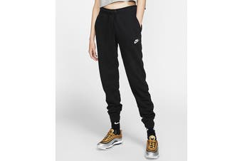 Nike Women's Essential Fleece Regular Pants (Black)