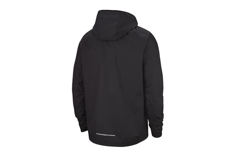 Nike Men's Essential Jacket (Black, Size L)