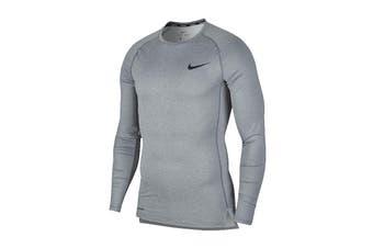 Nike Men's Pro Core Tight Tees (Grey, Size XL)