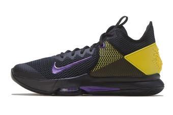 Nike Men's Lebron Witness IV Basketball Shoe (Blue, Size 7.5 US)