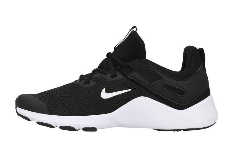 Nike Women's Nike Legend Essential Running Shoe (Black/White/White, Size 9 US)