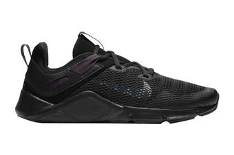 Nike Women's Nike Legend Essential Running Shoe (Black/Anthracite-Anthracite, Size 8.5 US)