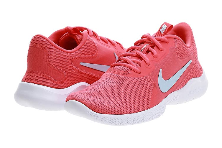 Nike Women's Flex Experience Rn 9 Running Shoe (Pink, Size 8 US)