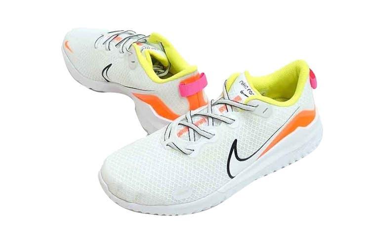 Nike Men's Nike Renew Ride Running Shoe (White/Pink/Orange, Size 9 US)