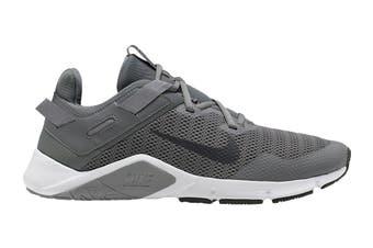 Nike Men's Nike Legend Essential Running Shoe (Grey/Dark Smoke Grey/White, Size 8.5 US)
