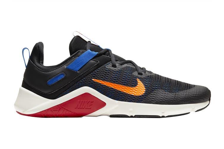 Nike Men's Nike Legend Essential Running Shoe (Black/Total Orange/Soar/Pale Ivory, Size 10.5 US)
