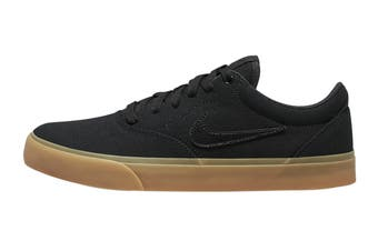 Nike Unisex SB Charge Canvas Skate Shoe (Black/Black/Gum Light Brown, Size 9 Men's US)