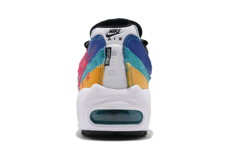 Nike Women's Air Max 95 Sneaker (White, Size 10 US)