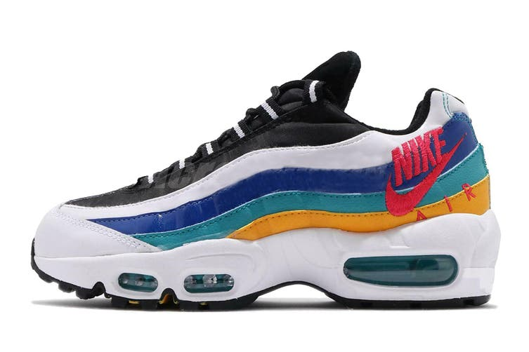 Nike Women's Air Max 95 Sneaker (White, Size 9 US)