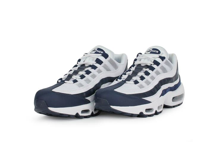 Nike Men's Air Max 95 Essential Sneaker (White, Size 7.5 US)