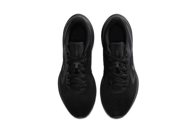 Nike Men's Nike Downshifter 10 Running Shoe (Black/Black/Iron Grey, Size 7 US)