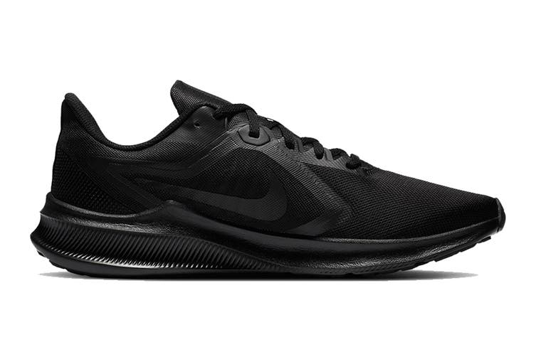 Nike Men's Nike Downshifter 10 Running Shoe (Black/Black/Iron Grey, Size 8 US)