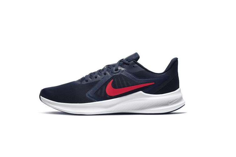 Nike Men's Downshifter 10 Running Shoe (Navy, Size 8 US)