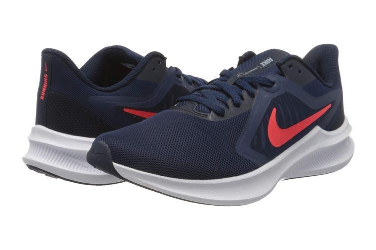 Nike Men's Downshifter 10 Running Shoe (Navy, Size 9.5 US)