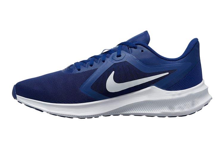 Nike Men's Downshifter 10 Running Shoe (Blue, Size 7.5 US)
