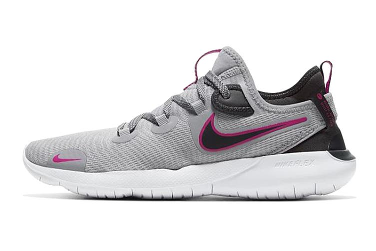 Nike Women's Flex 2020 Rn Running Shoe (Grey, Size 6.5 US)