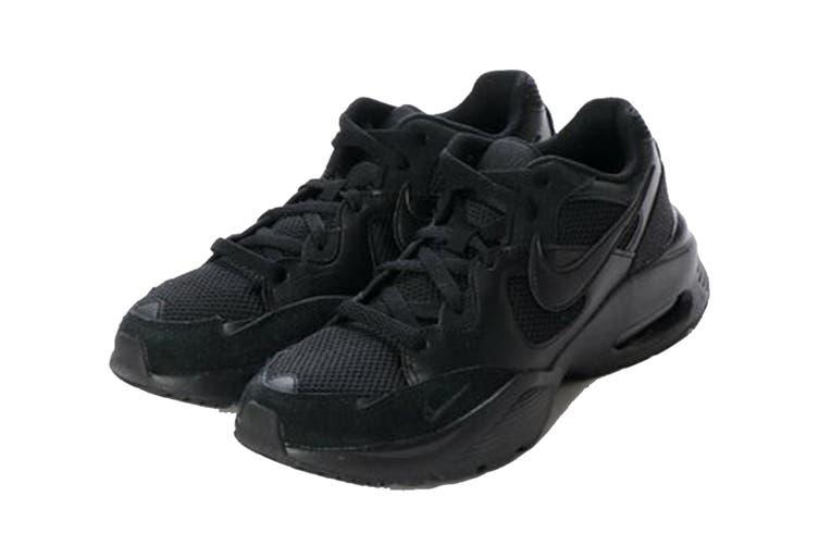 Nike Men's Air Max Fusion Shoe (Black/Black/Black, Size 6 US)