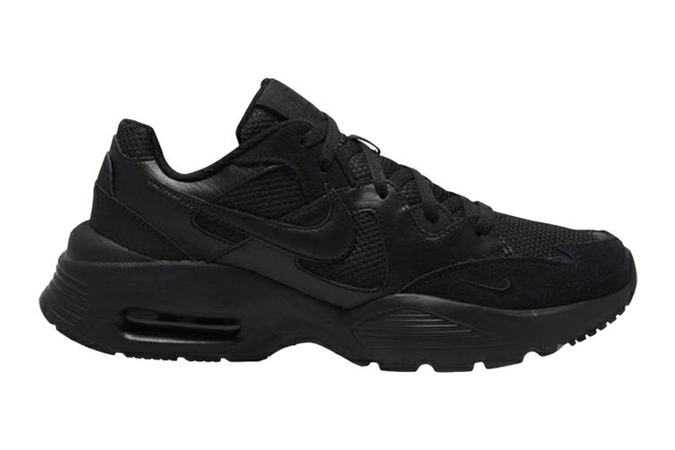 Nike Men's Air Max Fusion Shoe (Black/Black/Black, Size 8 US)