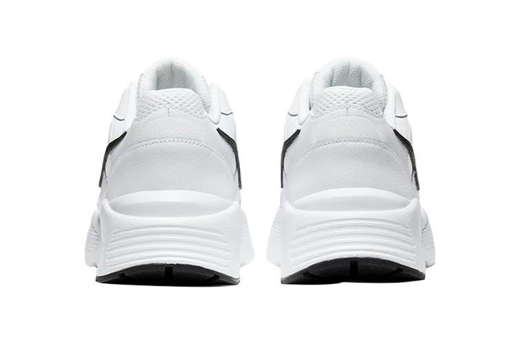 Nike Men's Air Max Fusion Shoe (White/Black/White, Size 12 US)
