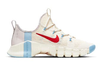 Nike Women's Free Metcon 3 Running Shoe (White, Size 5.5 US)