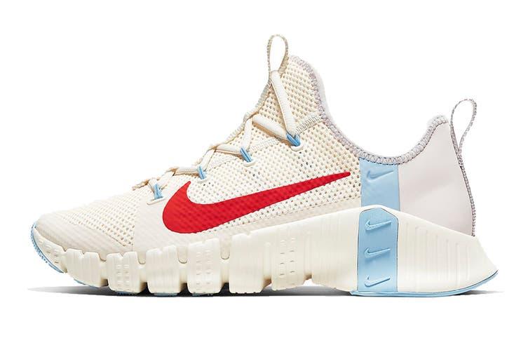 Nike Women's Free Metcon 3 Running Shoe (White, Size 8 US)