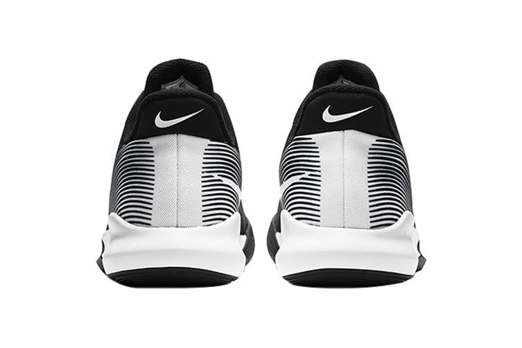 Nike Men's Precision IV Basketball Shoe (Black/White, Size 13 US)