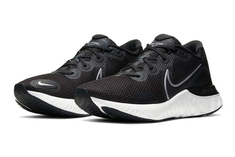 Nike Men's Renew Run Running Shoe (Black, Size 7.5 US)
