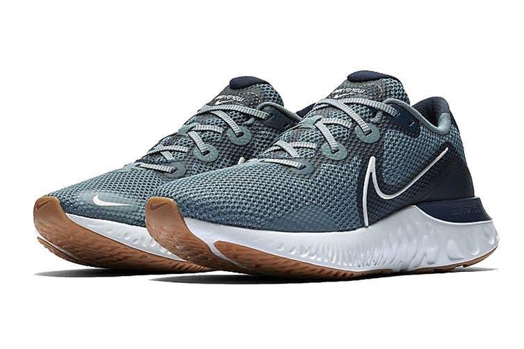 Nike Unisex's Renew Run Running Shoe (Blue, Size 7.5 US)