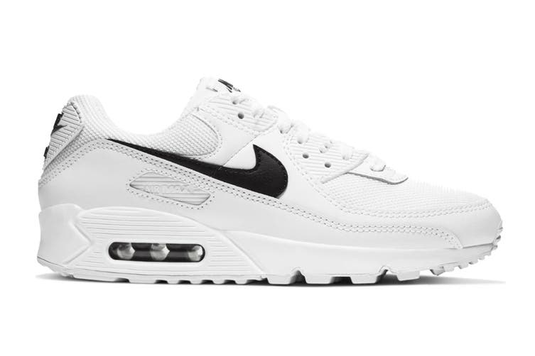 Nike Women's Air Max 90  Sneaker (White, Size 7.5 US)