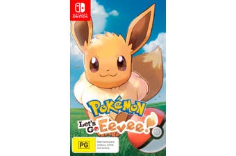 Pokemon Lets Go Eevee (Nintendo Switch)