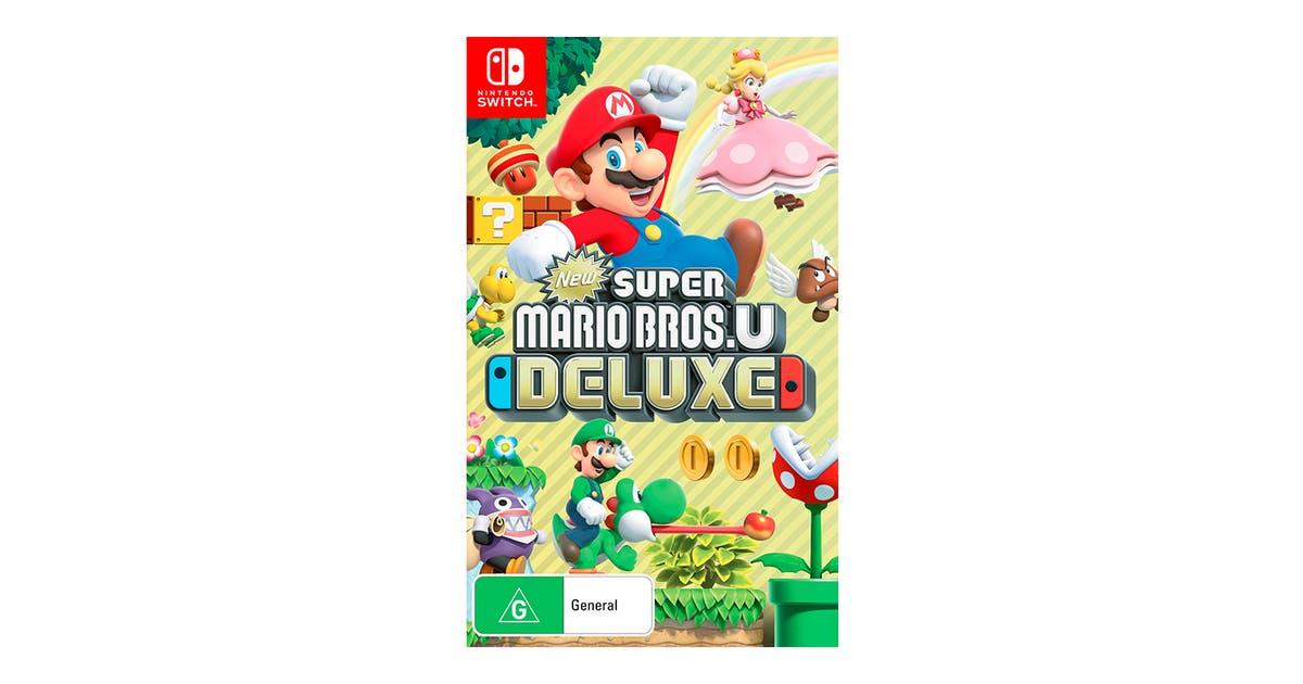 New Super Mario Bros U Deluxe Nintendo Switch Kogan Com