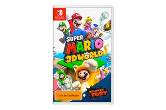 Super Mario 3D World + Bowsers Fury (Nintendo Switch)