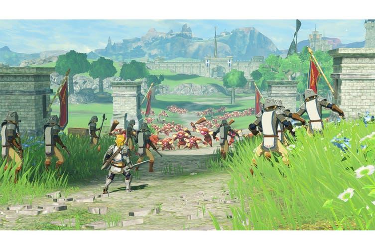 Hyrule Warriors Age Of Calamity Nintendo Switch Kogan Com
