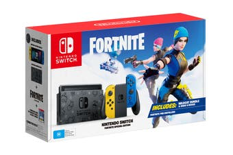 Nintendo Switch Console Fortnite Special Edition