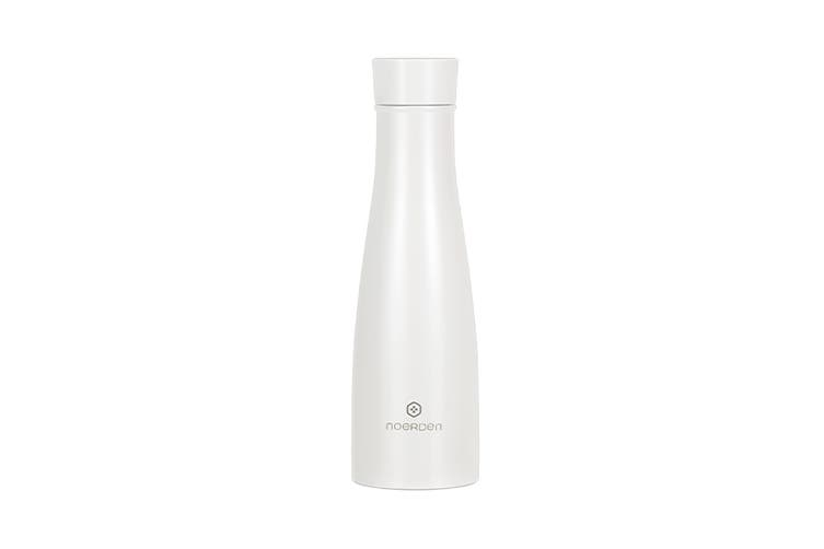 Noerden LIZ Self-cleaning Smart Water Bottle with UV Sterilisation 480ml - White (PND-0001)