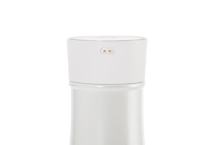Noerden LIZ Self-cleaning Smart Water Bottle with UV Sterilisation 350ml - White (PND-0100)