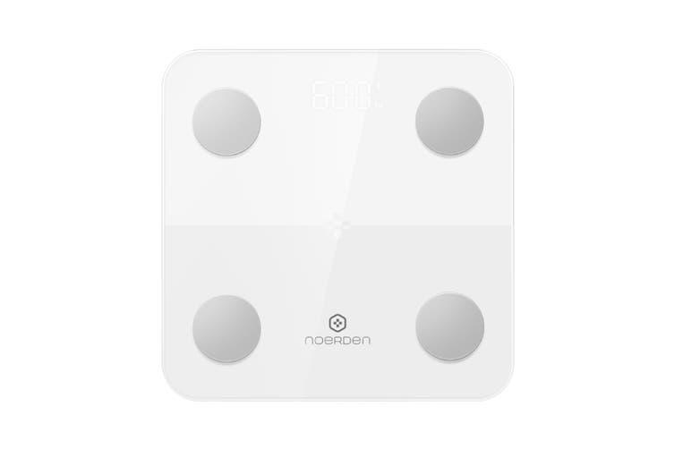 Noerden MINIMI Silence Body Scale  - White (PNS-0002)