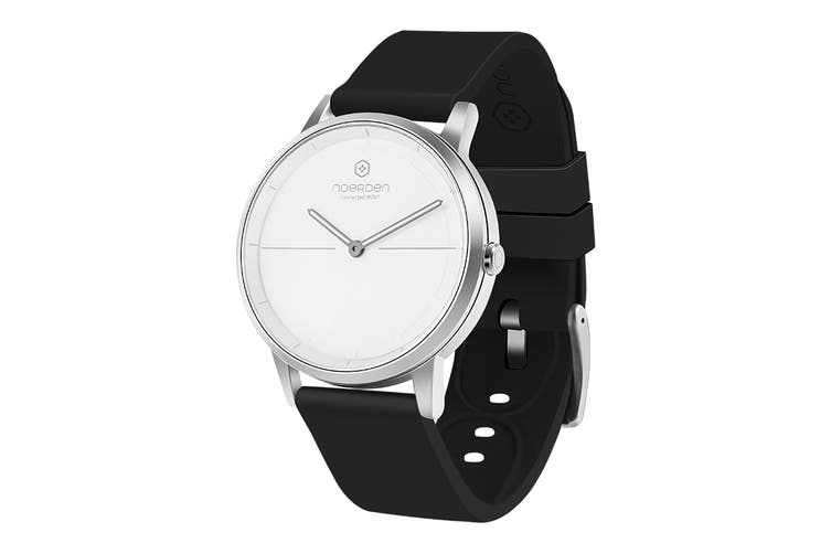 NOERDEN MATE2 Smart Watch - White/Black (PNW-0702)