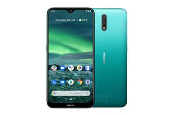 Nokia 2.3 (32GB, Cyan Green)