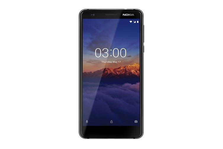 Nokia 3.1 (16GB, Black/Chrome)