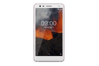 Nokia 3.1 (16GB, White/Iron) - AU/NZ Model