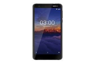 Nokia 3.1 (Black/Chrome)