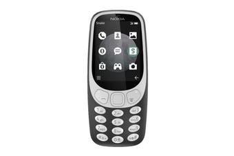 Nokia 3310 3G Dual SIM (Charcoal)