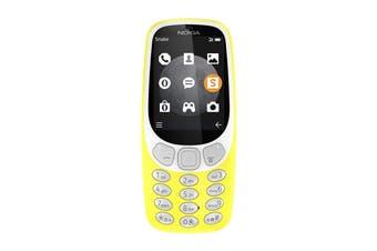 Nokia 3310 3G Dual SIM (Yellow)