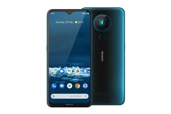 Nokia 5.3 (4GB RAM, 64GB, Cyan) - AU/NZ Model