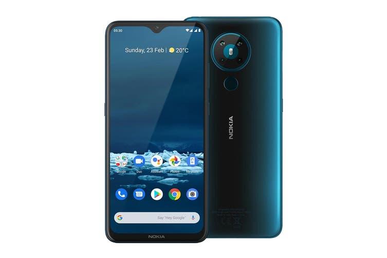 Nokia 5.3 (4GB RAM, 64GB, Cyan) - AU/NZ Model