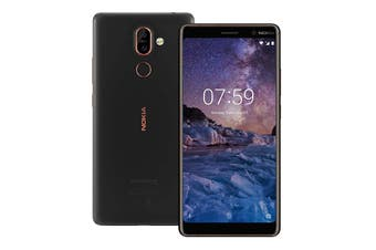 Nokia 7 Plus (64GB, Black/Copper)